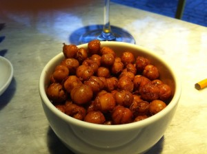 Crispy lil chickpeas made of goat just kidding!